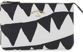 Vivienne Westwood Bristol crocodile-embossed leather clutch