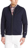 Nautica Men's Color Block French Terry Hoodie