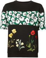 Stella McCartney floral sweatshirt
