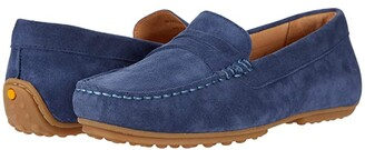 Samuel Hubbard Free Spirit For Her (Stonewashed Blue Suede/Gum Sole) Women's Shoes