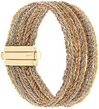 Carolina Bucci 18kt gold 9 Strand Lazy Lucky bracelet