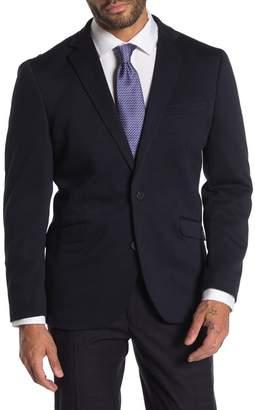 Kenneth Cole Reaction Navy Blue Slim Fit Evening Jacket