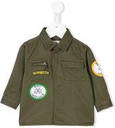Stella McCartney enzo shirt - kids - Cotton/Polyester - 6 mth