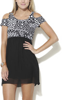 Wet Seal Aztec 2fer Dress