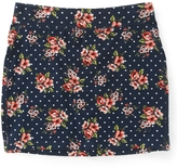 Aeropostale Dotted Floral Skirt