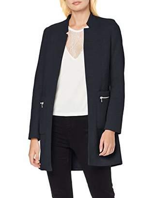 Only Women's Onllinea L/s Zip Coatigan Cc OTW Coat,(Size: 42)