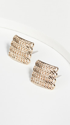 Jules Smith Designs Chain Sheet Earrings
