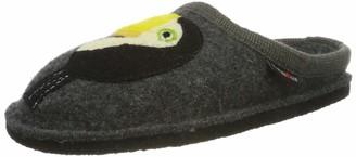 Haflinger Unisex Adults Flair Tucan Open Back Slippers