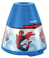 Marvel Philips Spider-Man Children's Night Light and Projector - 1 x 0.1 W Integrated LED