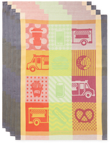 Garnier Thiebaut Street Food Kitchen Towels (Set of 4)