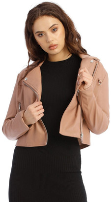 Missguided Ultimate Boxy Biker Jacket