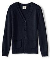 Classic Girls Drifter Button Front Cardigan Navy
