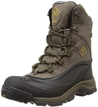 Columbia Mens Bugaboot Plus III Omni-Heat Snow Winter Boots Hiking, Brown (Mud/Squash)