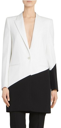 Givenchy Two-Tone Wool Evening Jacket