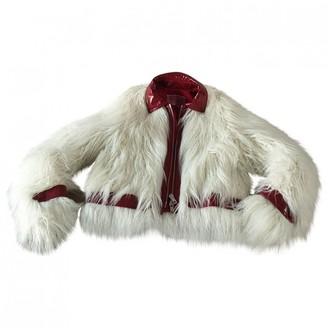 Giambattista Valli X H&m White Faux fur Jacket for Women