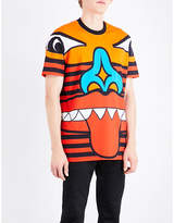 Givenchy Face-print Cotton-jersey T-shirt