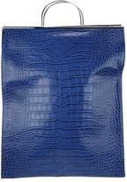 Marques Almeida Croco Leather Shopping Bag