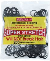 Proclaim Rubber Bands Black 200 Count