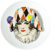Christian Lacroix Love Who You Want Miss Harlequin Dessert Plate