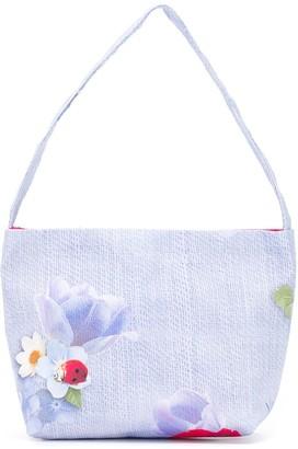 Lapin House Floral Print Shoulder Bag