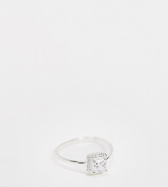 DesignB London promise ring in sterling silver