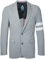 GUILD PRIME striped sleeve blazer - men - Nylon/Polyurethane/Rayon - 1