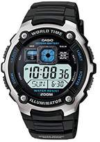 Casio Men's Silver-Tone Multi-Functional Digital Sport Watch AE2000W-1AV