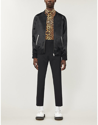 The Kooples Relaxed-fit satin jacket