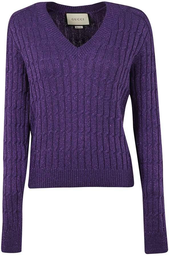 c270f23fe73f Women Dark Purple Sweater - ShopStyle