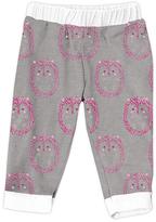 Urban Smalls Light Gray Cute Hedgehog Harem Pants - Infant