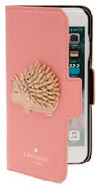 Kate Spade Porcupine Iphone 7 & 7S Folio Case - Pink