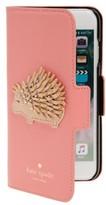 Kate Spade Porcupine Iphone 7/8 Folio Case - Pink
