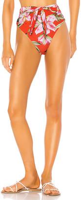 Mara Hoffman Goldie High Waist Bikini Bottom