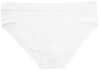 Ermenegildo Zegna White Cotton Briefs