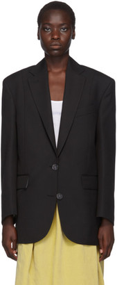 Acne Studios Black Single-Breasted Blazer