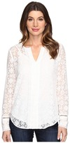 NYDJ Irina Embroidered Blouse