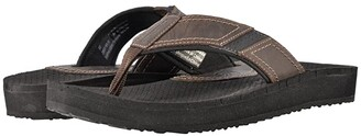 Dunham Carter Flip-Flop (Brown) Men's Sandals