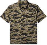 Stüssy - Safari Camouflage-print Cotton-seersucker Shirt