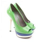 Versace Multicolour Patent leather Heels