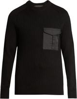 Rag & Bone Elijah patch-pocket sweater