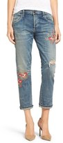 Citizens of Humanity Women's 'Emerson' Embroidered Slim Boyfriend Jeans