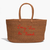 Madewell x Surfrider Foundation Straw Tote Bag