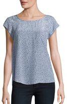 Joie Short Sleeve Silk Top