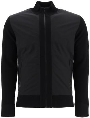 Ermenegildo Zegna wool and nylon zip-up cardigan