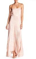 Clayton Louise Strapless Maxi Dress
