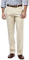 Haggar Premium No Iron Khaki - Straight Fit, Flat Front, Flex Waistband