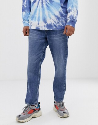 Cheap Monday in law 90s fit jeans in skate blue