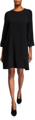 Co Peasant Sleeve Raglan Dress