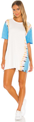 Michael Lauren Burman Oversized Mini Dress