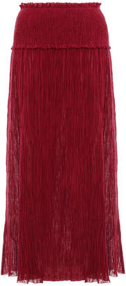 Zimmermann Suraya Shirred Waist Skirt